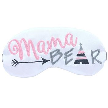 MAMA BEAR TEEPEE SLEEP MASK