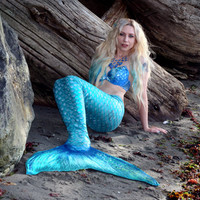 Swimmable Mermaid Tail- handmade