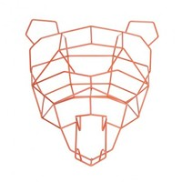 Bend Seating Polar Bear Geometric Animal Head | YLiving
