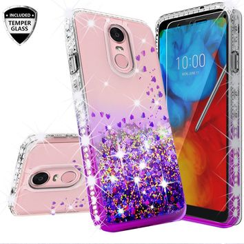 S9 Plus S9 For Samsung Galaxy S9 Girls Women Liquid Quicksand Bling Cute Clear Soft Tpu Silicone Case Back Cover 100% High Quality Materials