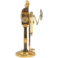 A 19th Century Mechanical Candlestick Approved by The French National Institute