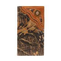 Nocona Men's Camo Shotgun Shell Lace Rodeo Wallet