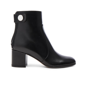 Gianvito Rossi Leather Boots in Black | FWRD