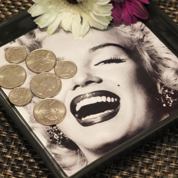 Marilyn Monroe Tray Dish Home Decor Office by FOTOJENNIKS on Etsy
