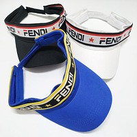FENDI Summer Newest Women Men Sports Sun Hat Cap