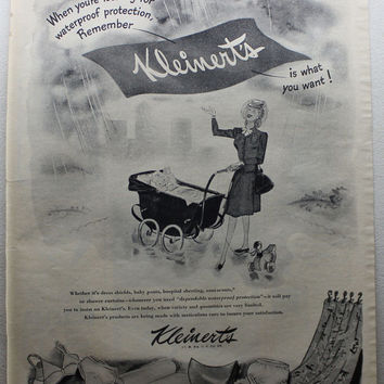 Vintage 1945 Kleinerts Underware War Bonds Bras Panties Print Ads Advertising Wall Art Decor