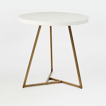 Lacquer Top Café Table