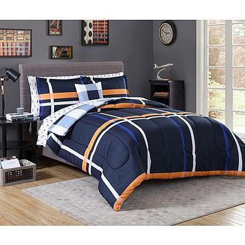 Complete Comforter Bedding Collection Bed Set Bed in a Bag
