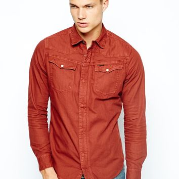 G Star Shirt Tailor Zip Colo
