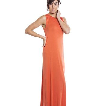 Michael Lauren Sebastian Sleeveless Maxi Dress