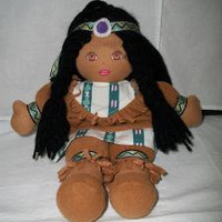 Native American Indian cloth doll