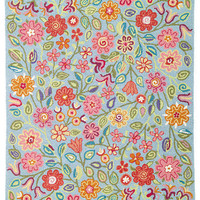 Company C Wool Rug April Blooms