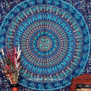 Camel Mandala Tapestry, Indian Mandala Tapestry, Bohemian Tapestry, Indian Tapestry, Beach Sheet, Etchnic Decor Art, Throw wall hanging
