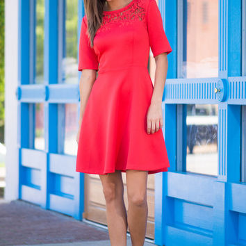 The Rissa Dress, Red