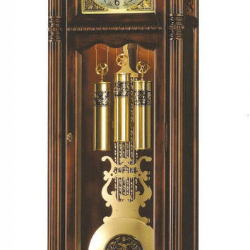 Ramsey Tuscany Cherry Grandfather Clock by Howard Miller