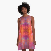 """That's Hot"" A-Line Dress by lyle58 