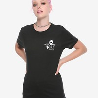 Grim Reaper #Dead Girls T-Shirt