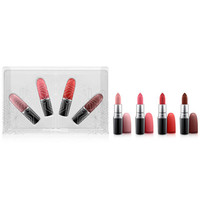 MAC Snow Ball Holiday Kit / Snow Ball Lip Kit Warm (A $70 Value!), Created for Macy's - Gifts & Value Sets - Beauty - Macy's