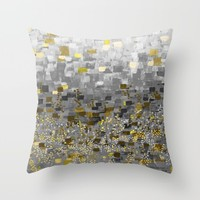 :: Honey Bee Compote :: Throw Pillow by :: GaleStorm Artworks ::