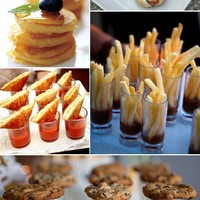 Indulgence / Mini everything!  Great party appetizer ideas. Everything is better in mini!!
