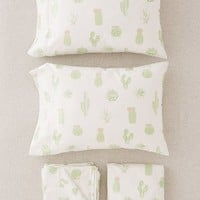 Cactus Sheet Set | Urban Outfitters