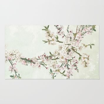 Bloom and blossom Rug by anipani
