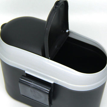 1 pc18*9*14 cm Mini Square Car Trash Bin Rubbish For Car Office Home Car trash Garbage Holder Trash Can