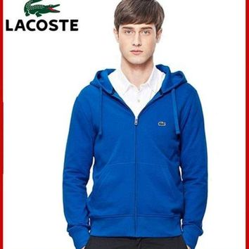 ICIKIG3 LACOSTE POLO OUTDOOR SPORTS HOODIE COAT JACKETS