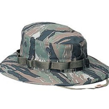 Rothco Boonie Hat, Tiger Stripe, 7.25