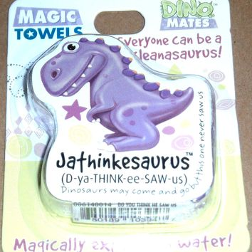Dinomatic Magic Towel-Jathinkesaurus