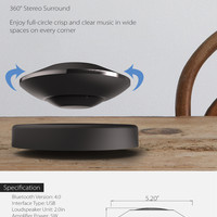 5D Levitating Portable Bluetooth Speaker from Apollo Box