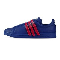Royal Blue and Red Three Strap by Raf Simons x Adidas