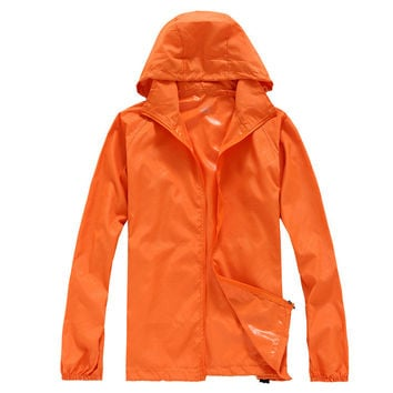 Outdoors Waterproof Long Sleeve Coat Jacket [6581742343]