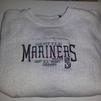 1997 Seattle Mariners Crewneck Size XXL MLB 90s sold by Deadstock Dynasty