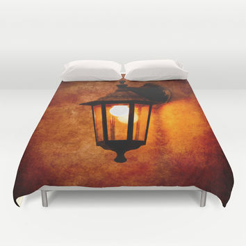 The Age Of Electricity Duvet Cover by Digital2real