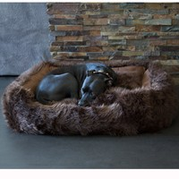 Animals Matter® Faux Fur Shag Lounger™ Luxury Dog Bed