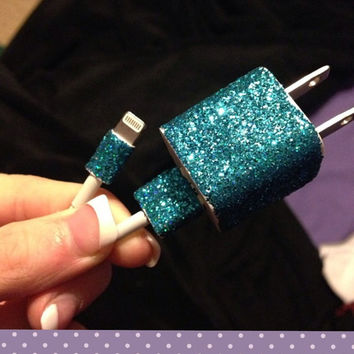 iPhone 5 Glitter Charger