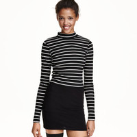 H&M Short polo-neck top $14.99