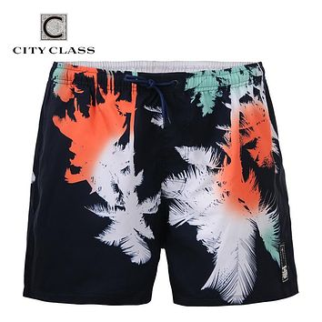 Men New Leisure Wild Loose Beach Shorts Short Length Board shorts