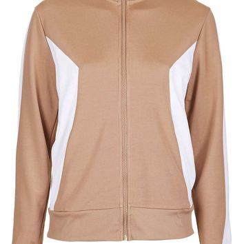 Sporty Zip Through Track Top | Topshop