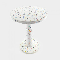 TAVOLO KYOTO DESIGN SHIRO KURAMATA MEMPHIS 1983 SIDE END TABLE