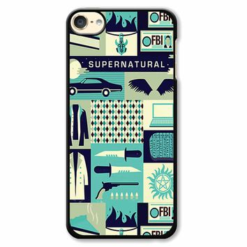 Supernatural Collage Art 8 iPod Touch 6 Case