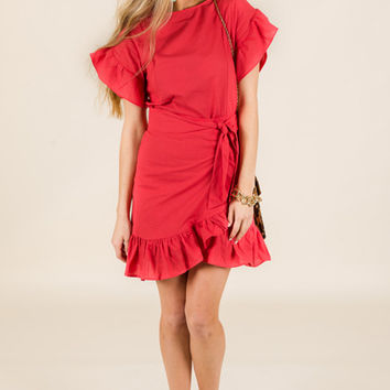 Salsa Wrap Dress