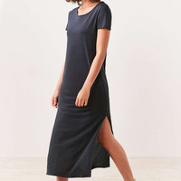 Silence + Noise Side-Slit Midi T-Shirt Dress - Urban Outfitters