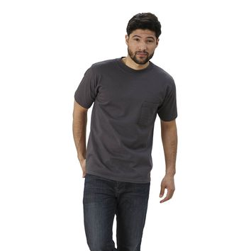 Adult Short Sleeve Crew Neck Slim Fit