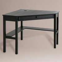 Black Corner Computer Desk - World Market