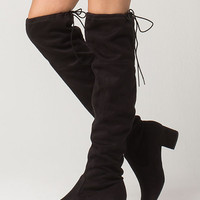 CITY CLASSIFIED Over The Knee Womens Boots | Boots + Booties