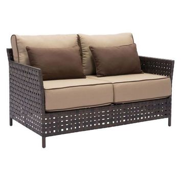 Pinery Sofa Brown & Beige