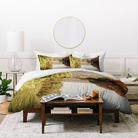 Catherine McDonald Autumn In Asia 1 Duvet Cover