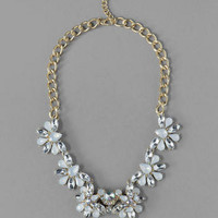 LAKELAND JEWELED STATEMENT NECKLACE